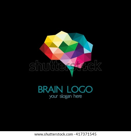 brain idea design badges symbol concept and logo - Idea Design