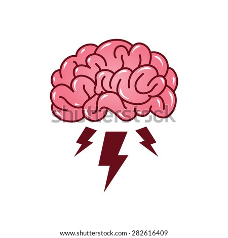 brainstorming creative idea abstract icon stock vector