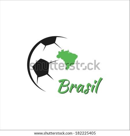 Brasil Soccer - stock vector