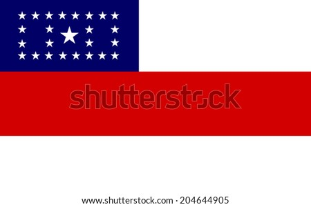 Brazil State Flags, Amazonas vector flag isolated on background.Brasil districts flags   - stock vector