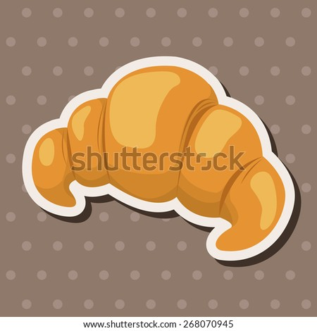 bread theme elements  - stock vector