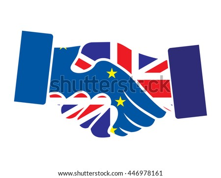 Brexit - hand shake
