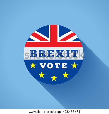 Brexit vector illustration - stock vector