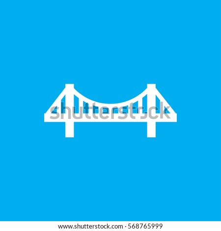 bridge icon illustration isolated vector sign symbol