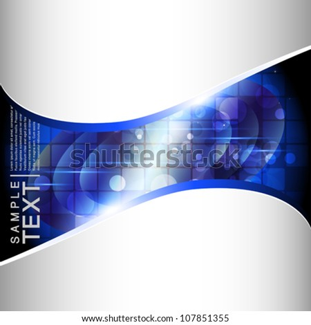 Bright abstract background - vector illustration. - stock vector