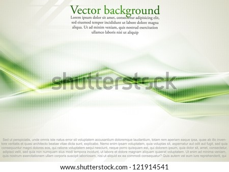 Bright abstract background. Vector illustration eps 10 - stock vector