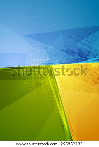Bright abstract contrast background. Vector design - stock vector