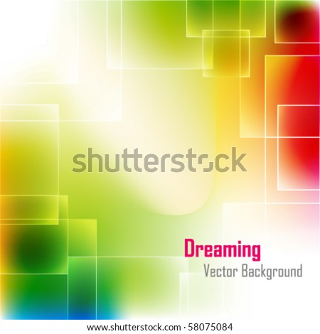bright abstract light background - vector illustration - stock vector