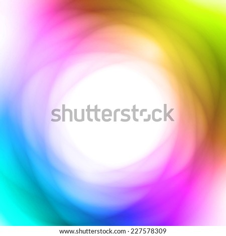 Bright Abstract Multicolored Background With Round Copyspace - stock vector