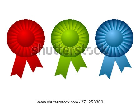 Bright abstract rosettes design. Vector background - stock vector