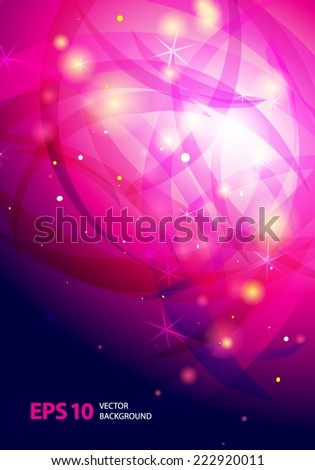 Bright abstract vector background.