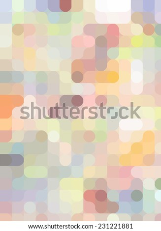 bright abstract vector background - stock vector