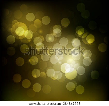 Bright circles on a colored background