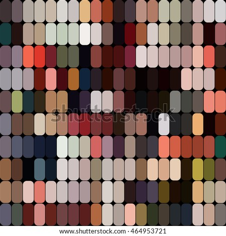 Bright colorful mosaic seamless pattern.