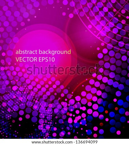 bright, glowing abstract background