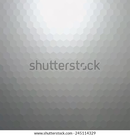 Bright grey abstract background. Vector illustration does not contain gradient or transparency - stock vector