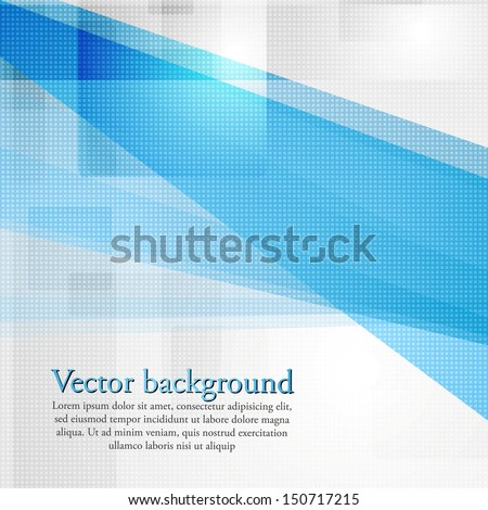 Bright hi-tech modern background - stock vector