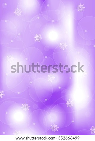 Bright purple Christmas background. Vector design