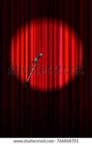 Stage Curtain Stock Images RoyaltyFree Images Vectors