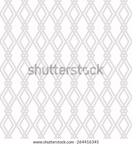 bright rhombus outline pattern..seamless vector background - stock vector