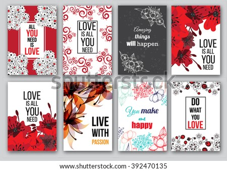 Bright romantic background in vector. Delightful card in modern style. Adorable romantic card, heart made of flowers