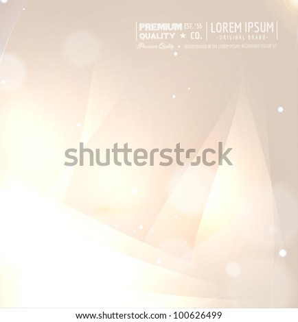 Bright shiny abstract background for hi tech design - stock vector