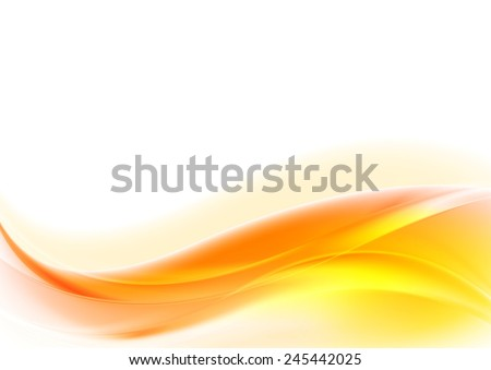Bright shiny wavy abstract background. Vector design - stock vector