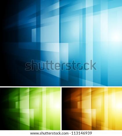 Bright technology background. Vector illustration eps 10 - stock vector