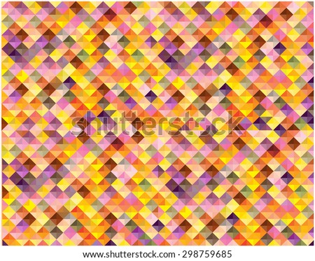 bright vector triangles background