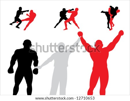 Briliance of the victory.Vector. - stock vector