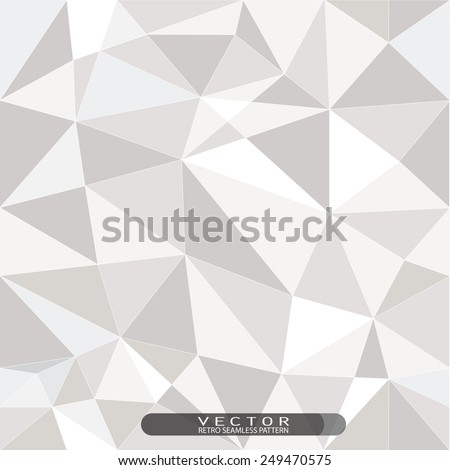 brilliant grid mesh seamless pattern, low poly design, hipster and modern concept, Endless texture can be used for wallpaper, pattern fills, web page background,surface textures. - stock vector