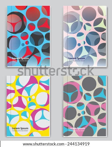 Brochure Cover. Abstract geometry color concept. Vector. - stock vector