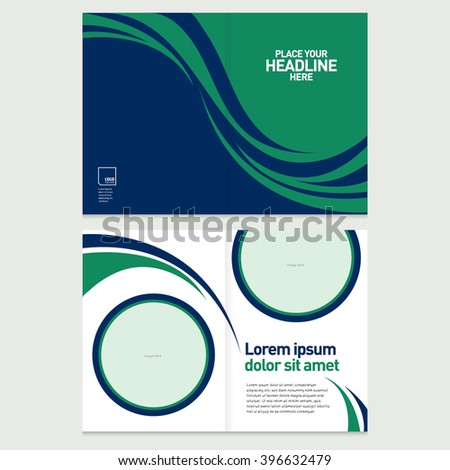 Business Card Vector Stock Vector Shutterstock - Business card template pages