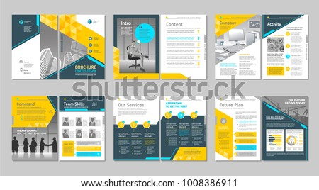 Brochure Creative Design Multipurpose Template Cover Stock Vector ...