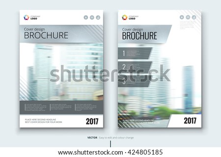 Brochure design, Brochure design template, Brochure design layout, Brochure design cover, Brochure design mockup, Brochure design page, Brochure design concept, Silver Brochure design vector   - stock vector