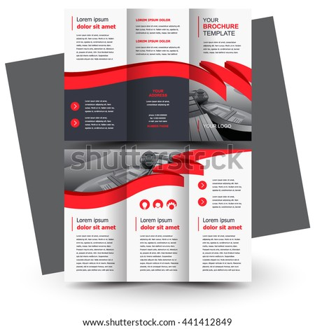 three fold brochure