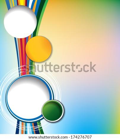 Brochure Design Content Background Design Layout Stock Vector ...