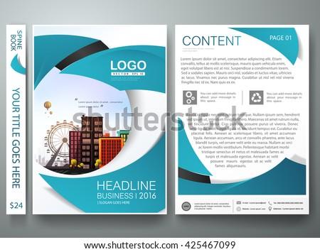 book report brochure template - yuttapholstocker 39 s portfolio on shutterstock