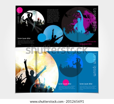 Brochure Layout Design Template  - stock vector