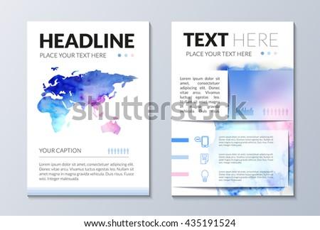 Brochure Templatebrochure Template Designbrochure Vectorinfograhic