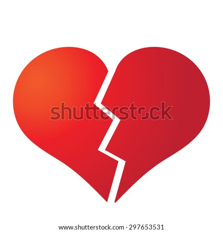 broken heart stock images  royalty free images   vectors broken heart vector image with a bullet broken heart vector image with a bullet