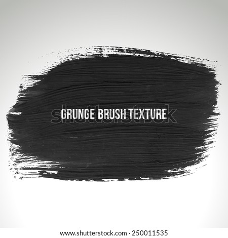 Brush stroke and texture. Vector design.