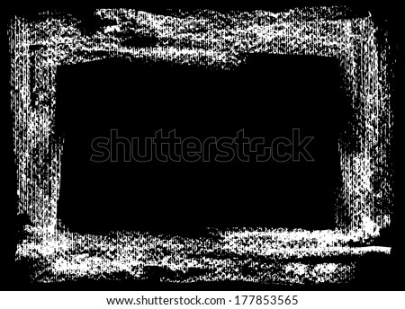 Brush strokes, grunge ink and paints stains, illustration vector design.  - stock vector