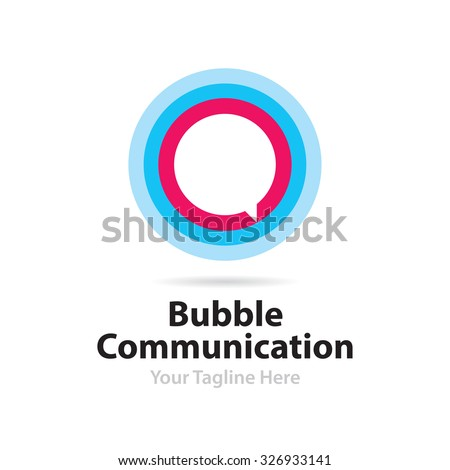Bubble Communication Logo
