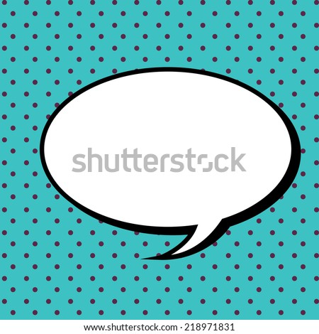 bubble graphic design , vector illustration - stock vector