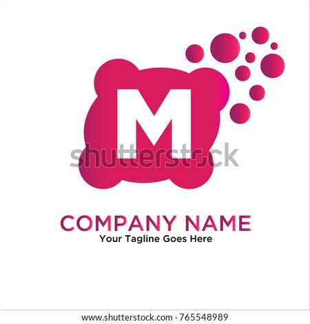 Bubble Letter Y Logo Y Letter Stock Vector Shutterstock