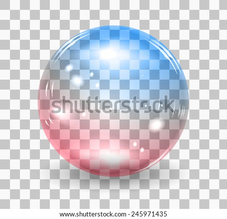 Bubble soap - stock vector