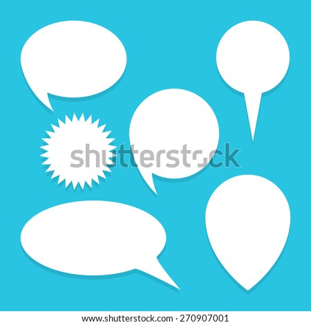 Bubble speech icon great for any use. Vector EPS10.  - stock vector