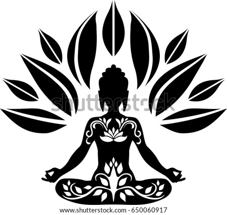 Buddha Tree Stock Vector 2018 650060917 Shutterstock