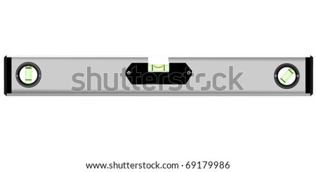 builder's level - stock vector
